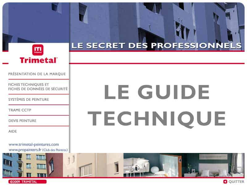 Le guide technique Trimetal